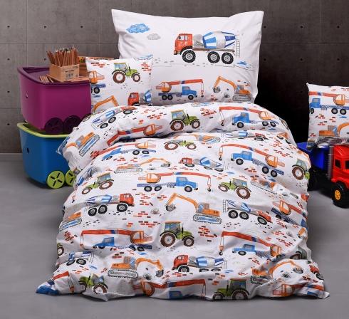 Obrazová posteľná súprava bavlna exclusive STAVBA