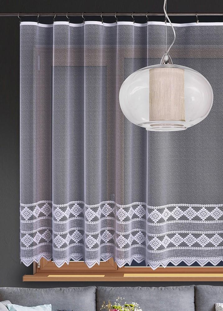 Metrážna žakárová záclona